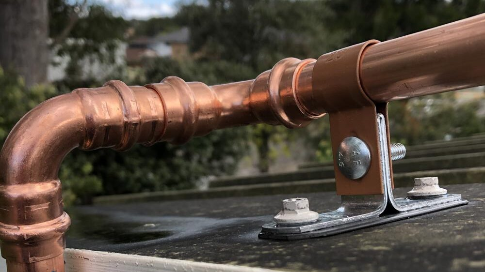 Quality copper pipe and metal fittings withstand the extremes of bushfires.