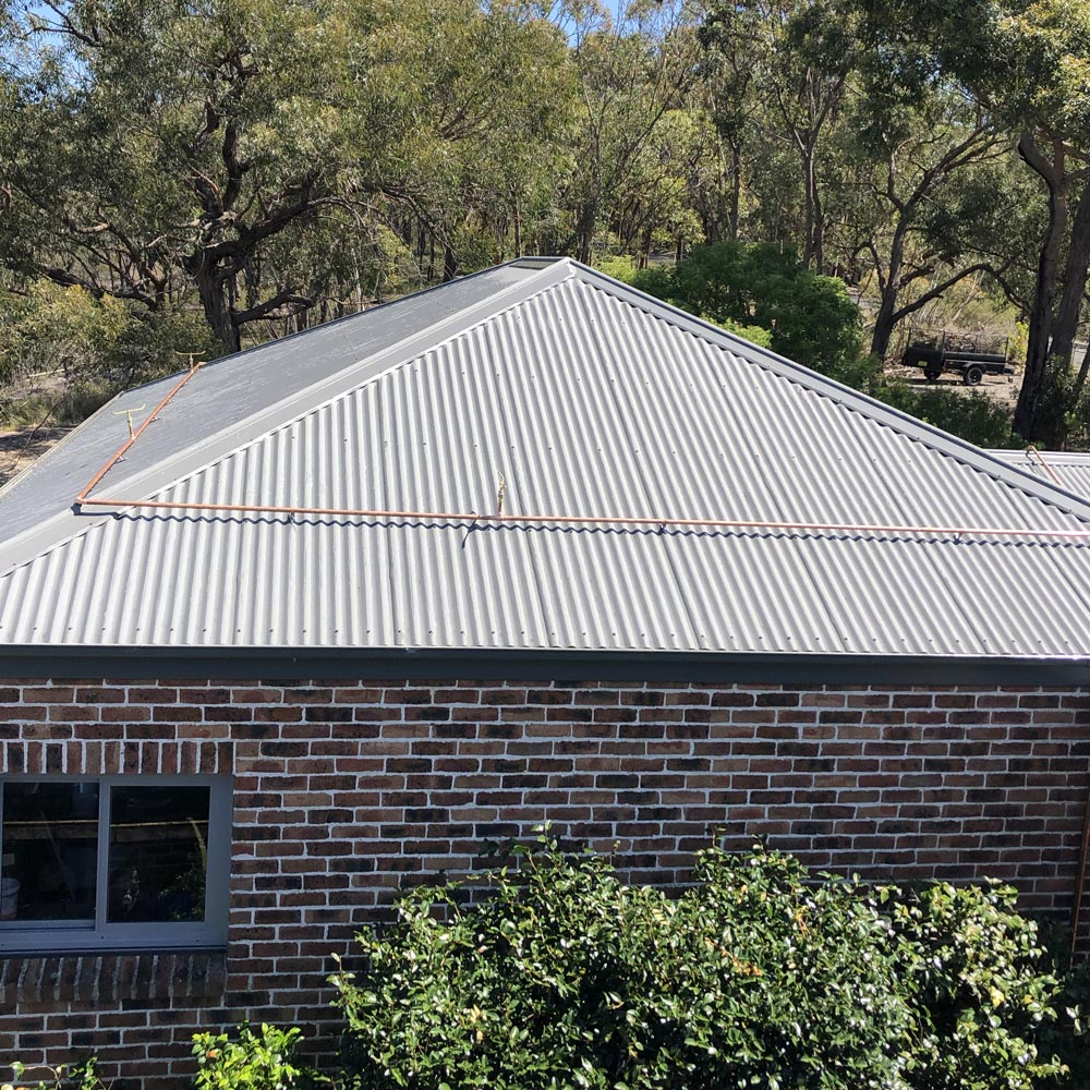 Installed with careful consideration to complement building design and aesthetics while maintaining the best coverage for bushfire and ember attack.